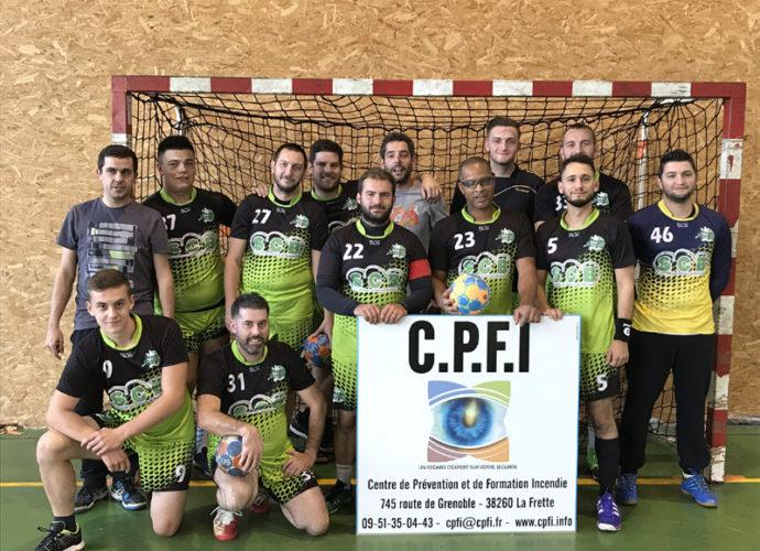 Les séniors continuent sur leur lancée - Hand Bievre Terres Froides - Club de Handball en Isère