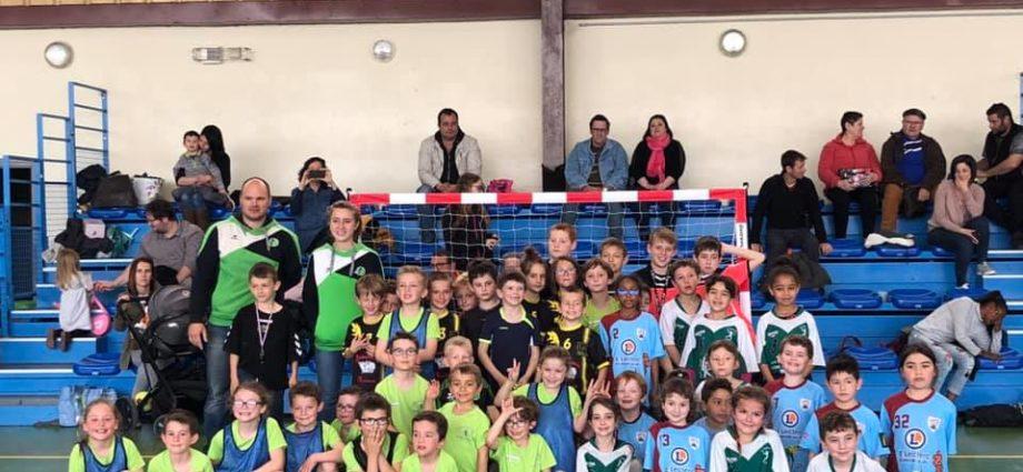 Ecole de Hand : Retour sur le plateau du 7 avril - Hand Bievre Terres Froides - Club de Handball en Isère