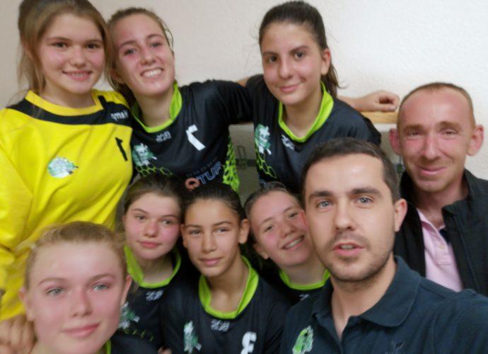 U15F : Une défaite avec courage ! - Hand Bievre Terres Froides - Club de Handball en Isère